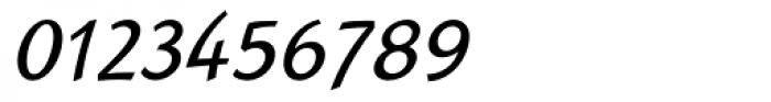Linotype Rana Italic Font OTHER CHARS