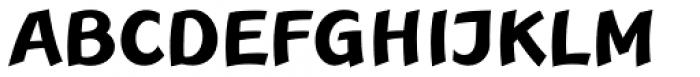 Linotype Rana Pro Bold Font UPPERCASE