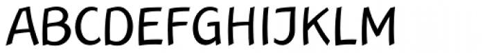 Linotype Rana Regular Font UPPERCASE