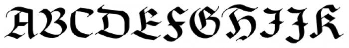 Linotype Richmond Fraktur Regular Font UPPERCASE