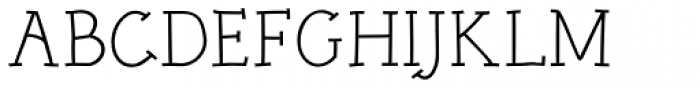 Linotype Rough Com Regular Font UPPERCASE