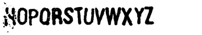Linotype Russisch Brot Eat Mix Font UPPERCASE