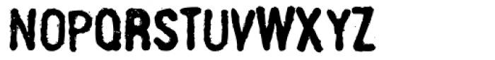 Linotype Russisch Brot Eat Text Font UPPERCASE
