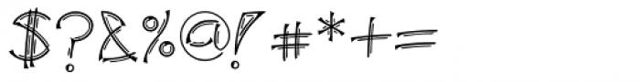 Linotype Salamander Pro Double Medium Font OTHER CHARS