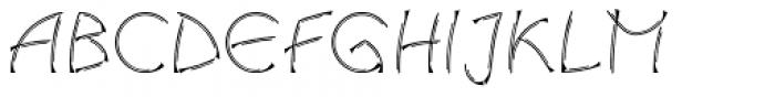 Linotype Salamander Pro Double Regular Font UPPERCASE