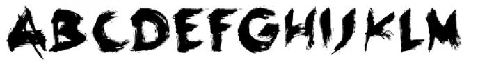 Linotype Seven Font UPPERCASE