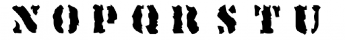 Linotype Sjablony Font UPPERCASE