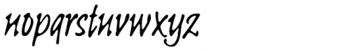 Linotype Sketch Pro Font LOWERCASE