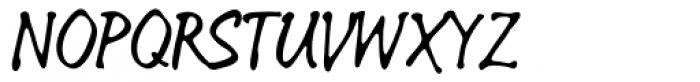 Linotype Sketch Font UPPERCASE