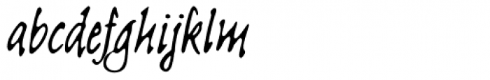 Linotype Sketch Font LOWERCASE