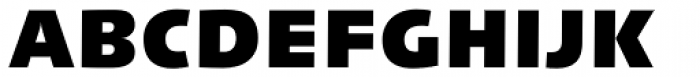 Linotype Syntax Black OsF Font UPPERCASE