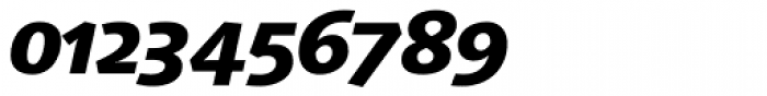 Linotype Syntax Heavy Italic OsF Font OTHER CHARS