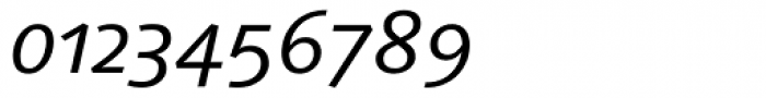 Linotype Syntax Italic OsF Font OTHER CHARS