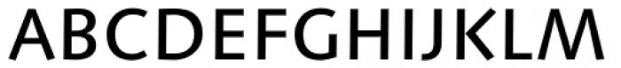 Linotype Syntax Medium OsF Font UPPERCASE