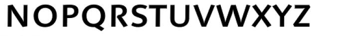Linotype Syntax Medium SC Font LOWERCASE