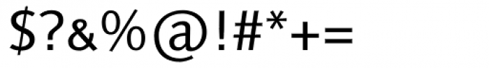 Linotype Syntax SC Font OTHER CHARS