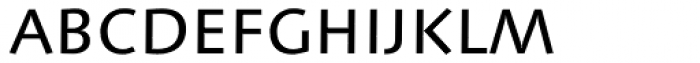 Linotype Syntax SC Font LOWERCASE