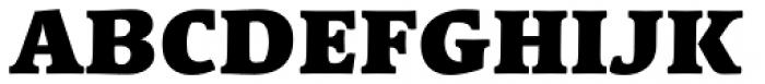 Linotype Syntax Serif Com Black Font UPPERCASE