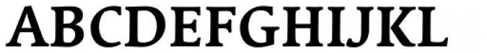 Linotype Syntax Serif Com Bold Font UPPERCASE