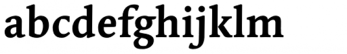 Linotype Syntax Serif Com Bold Font LOWERCASE