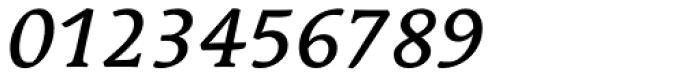 Linotype Syntax Serif Medium Italic Font OTHER CHARS