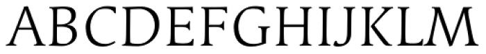 Linotype Syntax Serif SC Light Font UPPERCASE