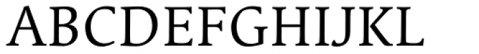 Linotype Syntax Serif SC Regular Font UPPERCASE