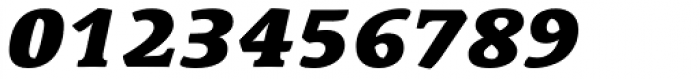 Linotype Syntax Serif Std Black Italic Font OTHER CHARS