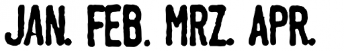 Linotype Tagesstempel Dick Font LOWERCASE