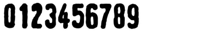 Linotype Tagesstempel Fett Font OTHER CHARS