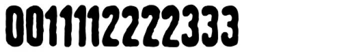 Linotype Tagesstempel Fett Font UPPERCASE