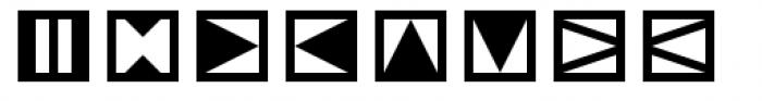 Linotype Tapestry Quadrat Font LOWERCASE