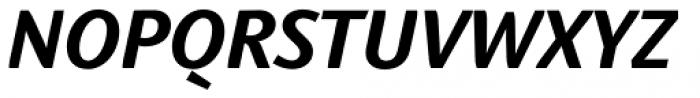 Linotype Textra Std Bold Italic Font UPPERCASE