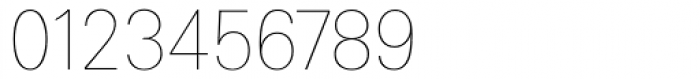 Linotype Univers 130 Basic UltraLight Font OTHER CHARS