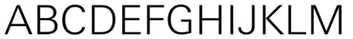 Linotype Univers 330 Basic Light Font UPPERCASE