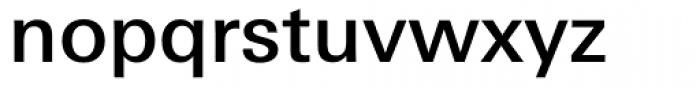 Linotype Univers 530 Basic Medium Font LOWERCASE