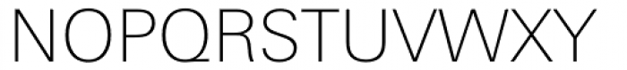 Linotype Univers Com 230 Basic Thin Font UPPERCASE