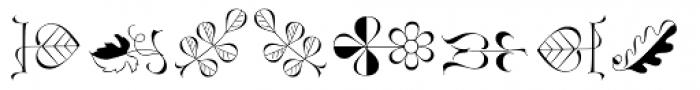 Linotype Zapfino Ornaments Font OTHER CHARS