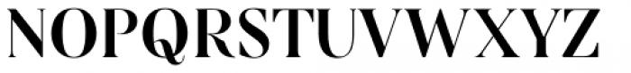 Linsingen Moderna Font UPPERCASE