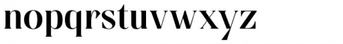 Linsingen Moderna Font LOWERCASE