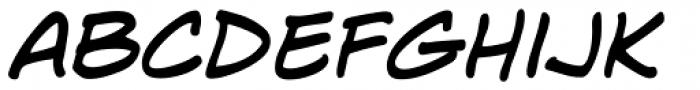 Lint McCree BB Italic Font LOWERCASE