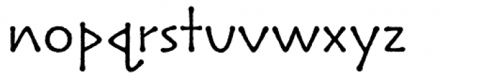 Lintball Font LOWERCASE