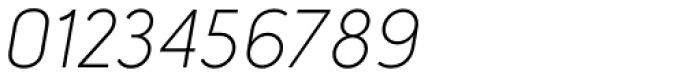 Lintel Light Italic Font OTHER CHARS