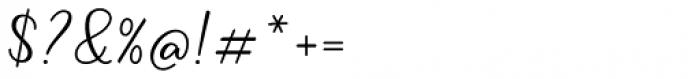 Liontin Regular Font OTHER CHARS