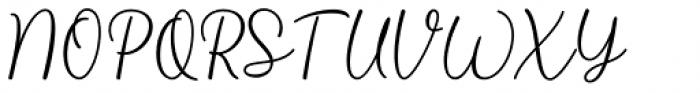 Liontin Regular Font UPPERCASE