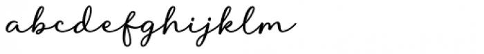 Liontin Regular Font LOWERCASE