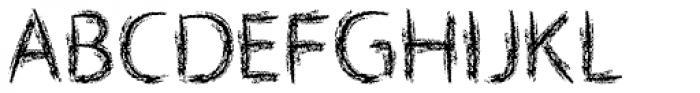 Lippy Sans Font UPPERCASE