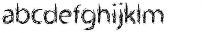 Lippy Sans Font LOWERCASE