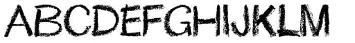 Lippy Font UPPERCASE