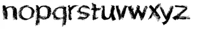 Lippy Font LOWERCASE